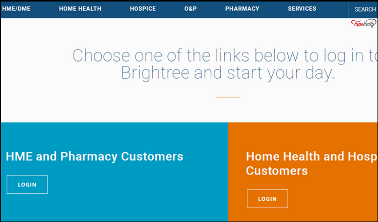 Brightree Home Page