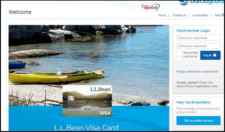 Llbean Visa Barclaycard Login Benefits Customers Services And Password Recovery Portals Guide