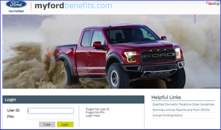 Myfordbenefits access myfordbenefits for employees benefits for Ford motor company employee login
